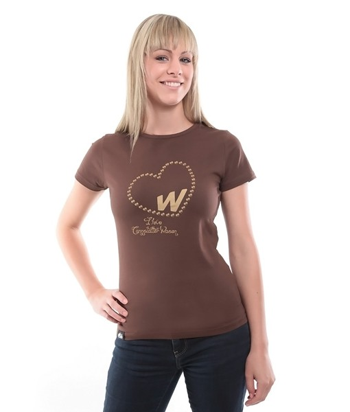 Damen Shirt I love Wasen