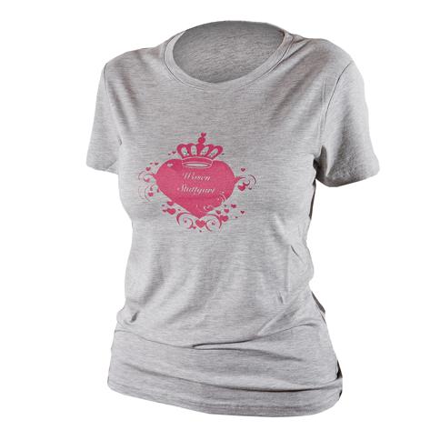 Damen Shirt Krone