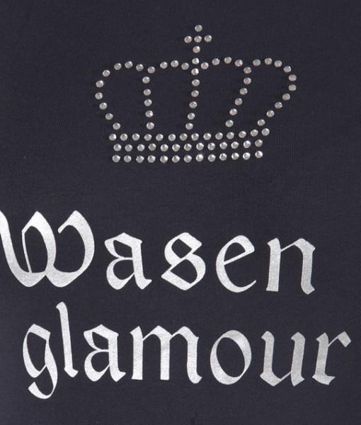Damen Shirt Wasen Glamour Detailansicht