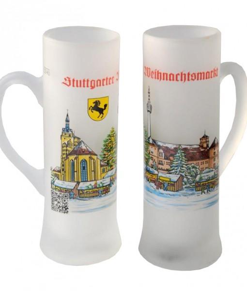 Stuttgarter Weihnachtsmarktglas
