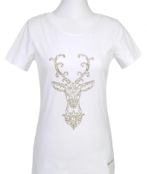 Damen-Shirt Hirschkopf