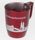 Weihnachtsmarktglas (metallic)