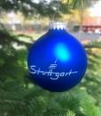 Weihnachtsbaumkugel royalblau