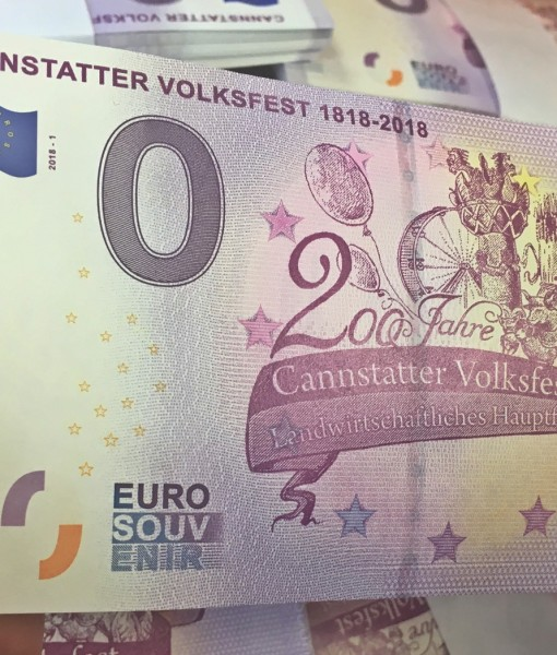 0-Euro Souvenirschein