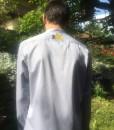 Hemd blau Rücken#