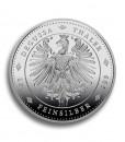 Rückseite Silbermünze